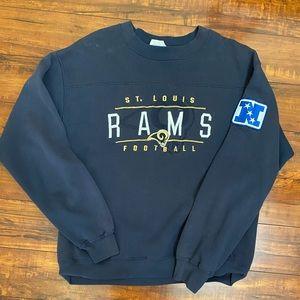 Vintage NFL St. Louis Rams Crewneck Size M